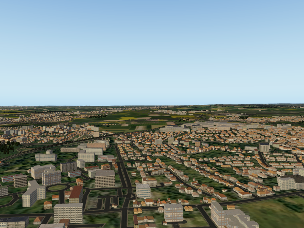 TABURET - DORTMUND PHOTOREALISTIC FOR X-PLANE 10