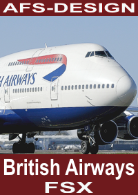 AFS-DESIGN - BOEING COLLECTION - BRITISH AIRWAYS FSX