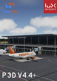 JUSTSIM - LUXEMBOURG FINDEL AIRPORT V2.1 P3D4.4+