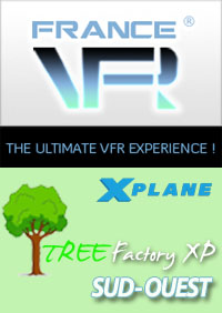 FRANCE VFR - TREE FACTORY XP SOUTH-WEST