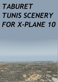 TABURET - TUNIS SCENERY FOR X-PLANE 10