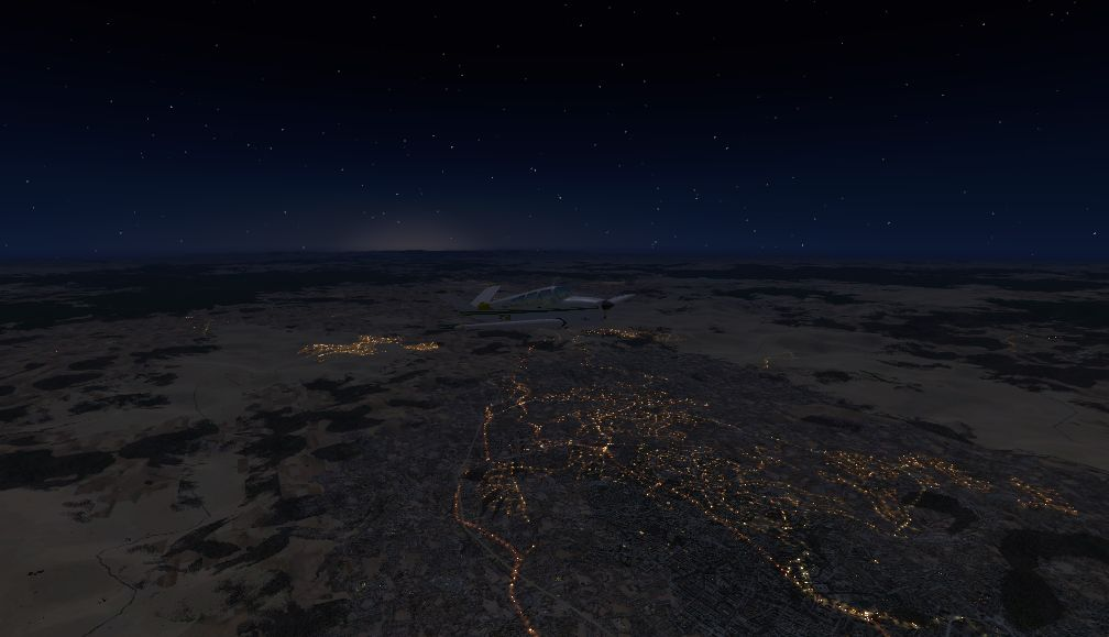 TABURET - FSX P3D NIGHT 3D SOUTH AFRICA LESOTHO
