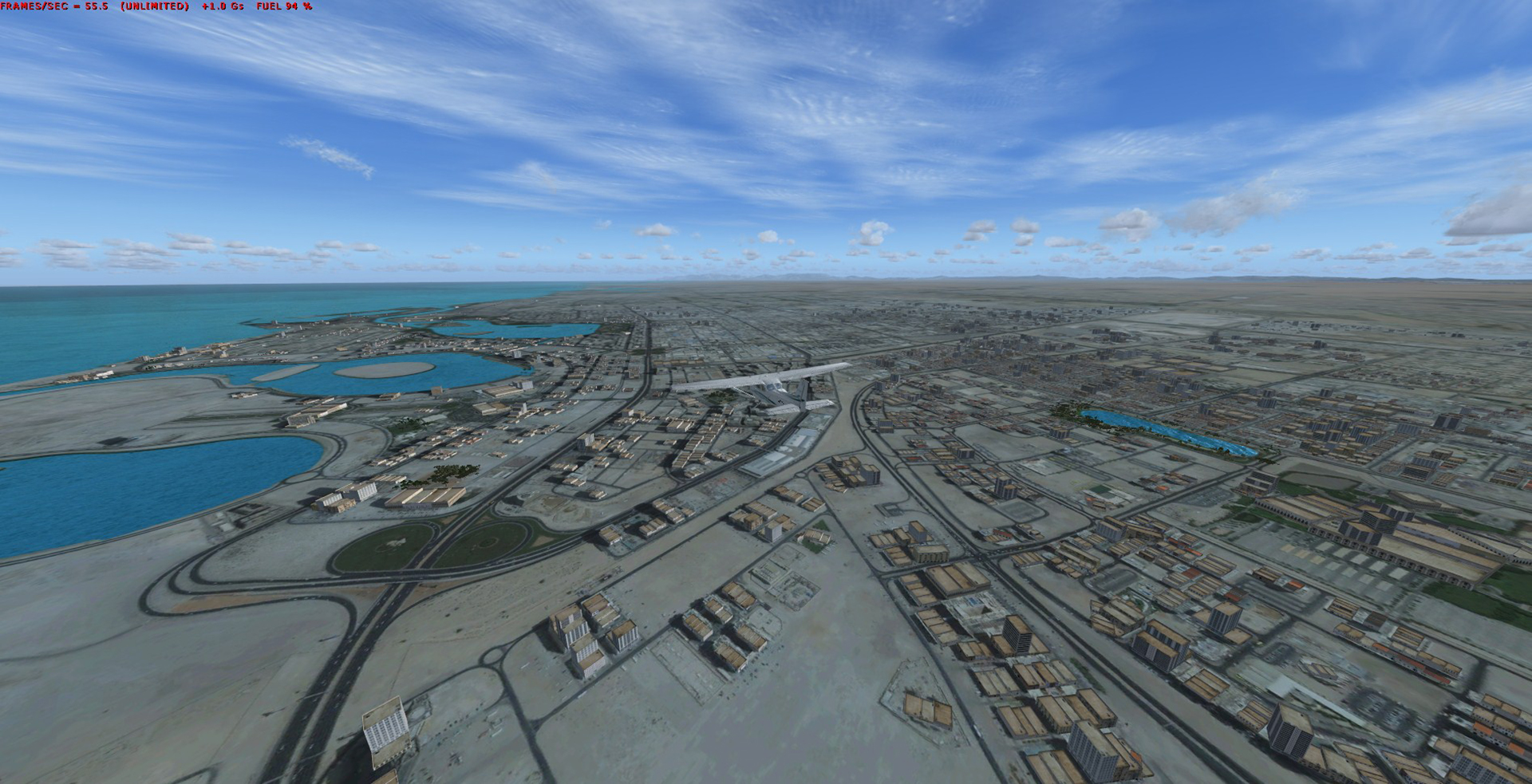 REALWORLD SCENERY - UNITED ARAB EMIRATES 3D 2017 FSX P3D
