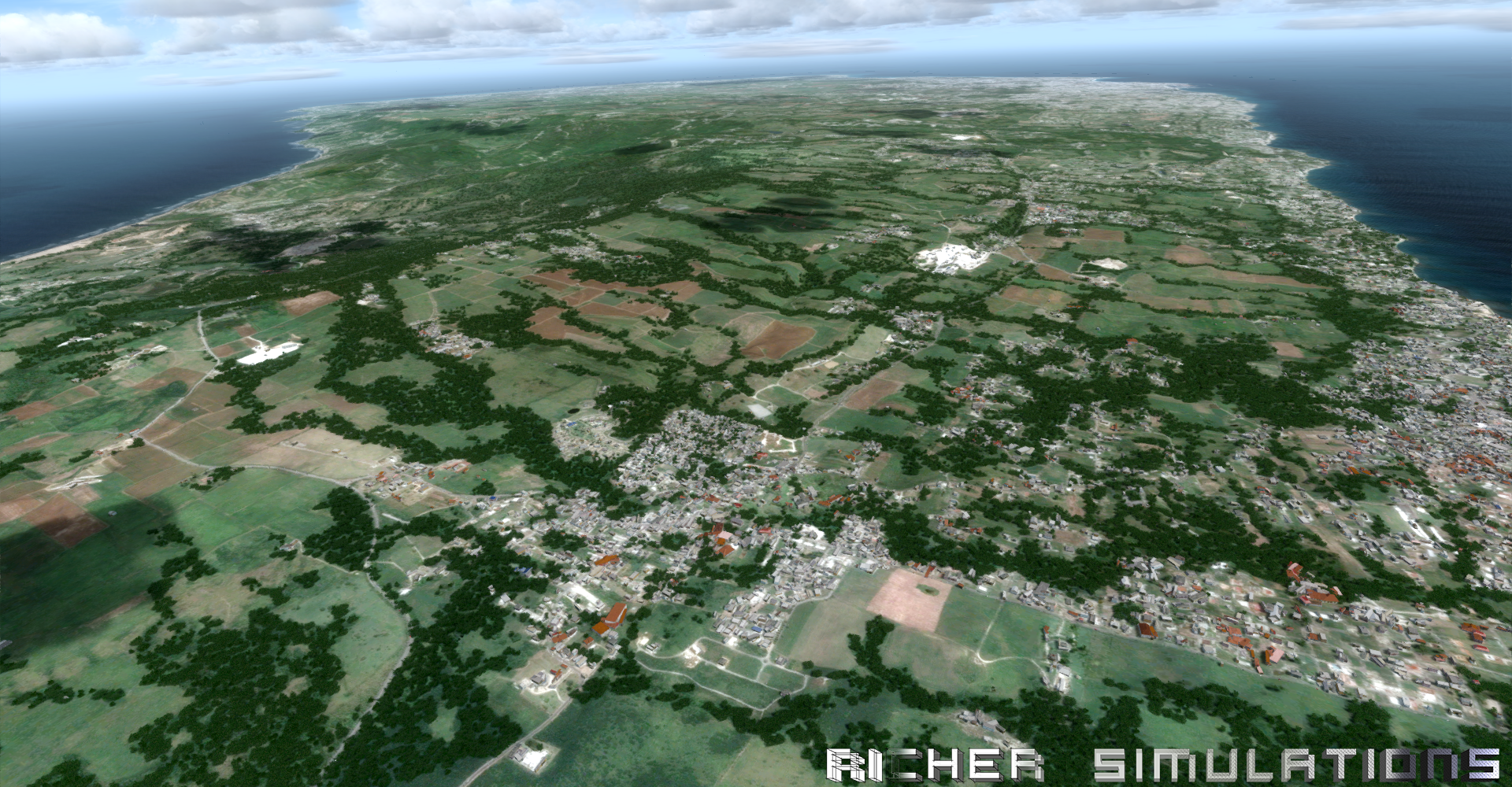 RICHER SIMULATIONS - CARIBSKY - BARBADOS 2017 FSX P3D