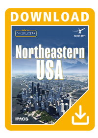 AEROSOFT - NORTHEASTERN USA FOR AEROFLY FS 2