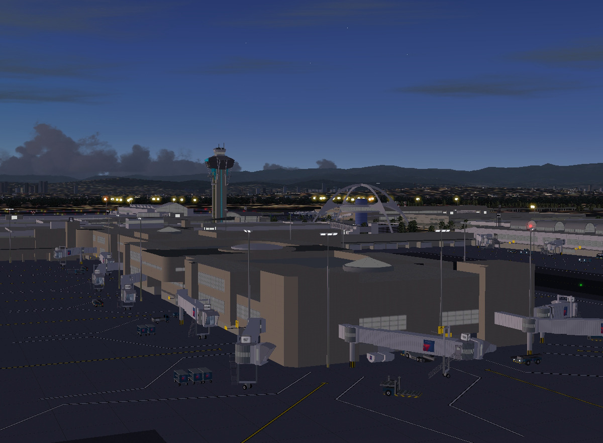 BLUEPRINT - KLAX LOS ANGELES FS2004