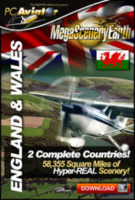 MEGASCENERYEARTH - PC AVIATOR - MEGASCENERY EARTH - ENGLAND & WALES FSX P3D