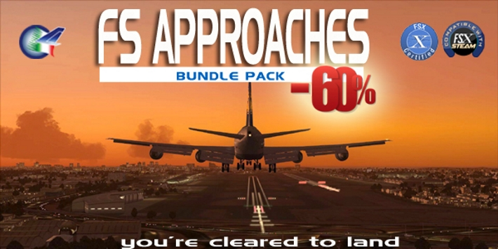PERFECT FLIGHT - FS APPROACHES BUNDLE PACK