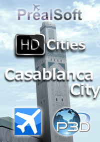 PREALSOFT - HD CITIES - CASABLANCA FSX P3D