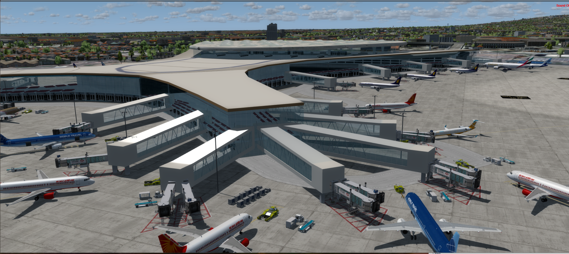 STINN PACIFIC - CHHATRAPATI INTERNATIONAL AIRPORT (VABB) FSX-SE