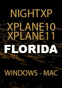 TABURET - NIGHT XP FLORIDA FOR X-PLANE 10/11