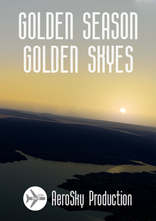 AEROSKY PRODUCTION - GOLDEN SEASON GOLDEN SKYES P3D 3-4.5