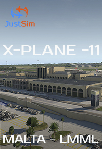 JUSTSIM - MALTA INTERNATIONAL AIRPORT - X-PLANE-11