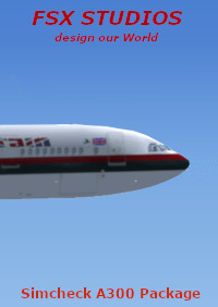 FSX-STUDIOS - 20 HD-LIVERIES FOR SIMCHECK AIRBUS A300B4-200 FSX