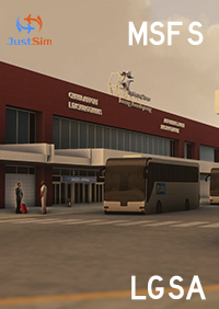 JUSTSIM - CHANIA INTERNATIONAL AIRPORT DASKALOGIANNIS - MSFS