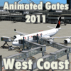 FLYSIMWARE - ANIMATED GATES 2011 WEST COAST