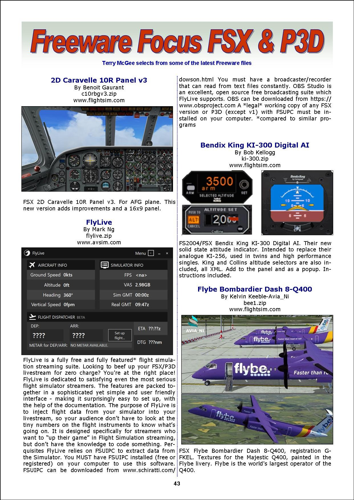 PC PILOTS IRELAND - PC FLIGHT VOL. 20 ISSUE 12 JUNE 2017 - FREE