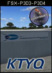 FSXCENERY - KTYQ INDIANAPOLIS EXECUTIVE AIRPORT FSX P3D
