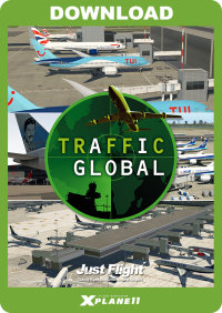 JUSTFLIGHT - TRAFFIC GLOBAL FOR X-PLANE 11 MAC VERSION