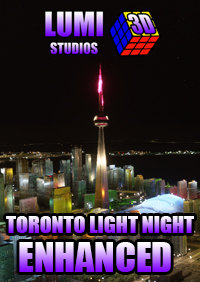LUMI 3D STUDIOS - TORONTO (CANADA) NIGHT LIGHT ENHANCED MSFS