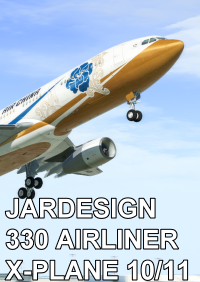 JARDESIGN - 330 AIRLINER FOR X-PLANE 11