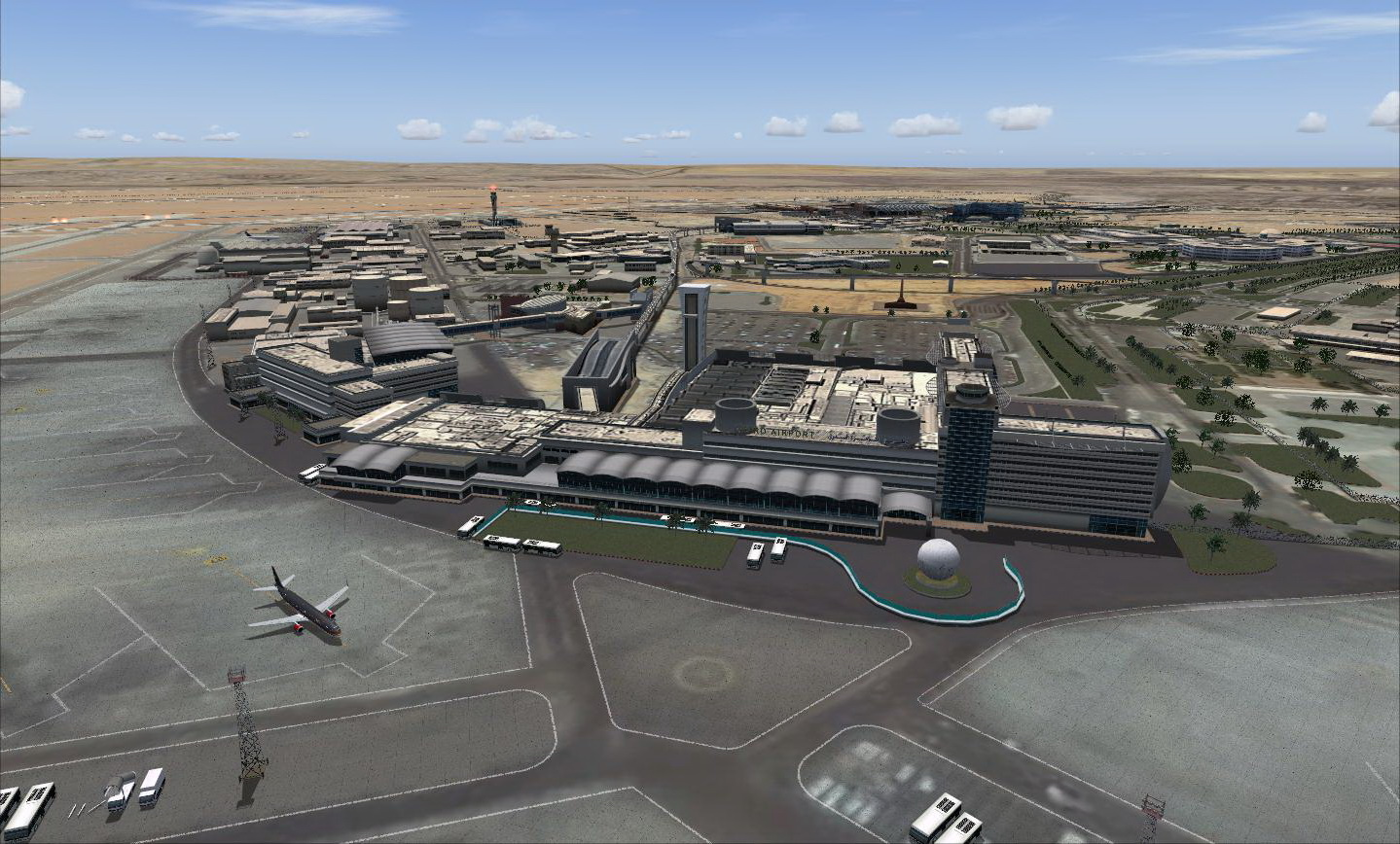 ARMI PROJECT - CAIRO INTERNATIONAL AIRPORT HECA FS2004