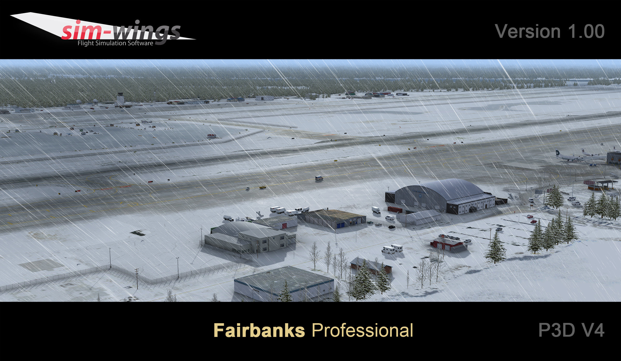 AEROSOFT - FAIRBANKS PROFESSIONAL P3D4