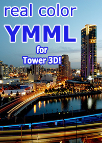 NYERGES DESIGN - REAL COLOR YMML FOR TOWER! 3D