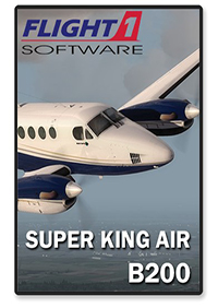 FLIGHT 1 - KING AIR B200 VERSION 2 FSX P3D
