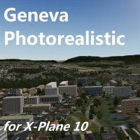 TABURET - GENEVA PHOTOREALISTIC FOR X-PLANE 10