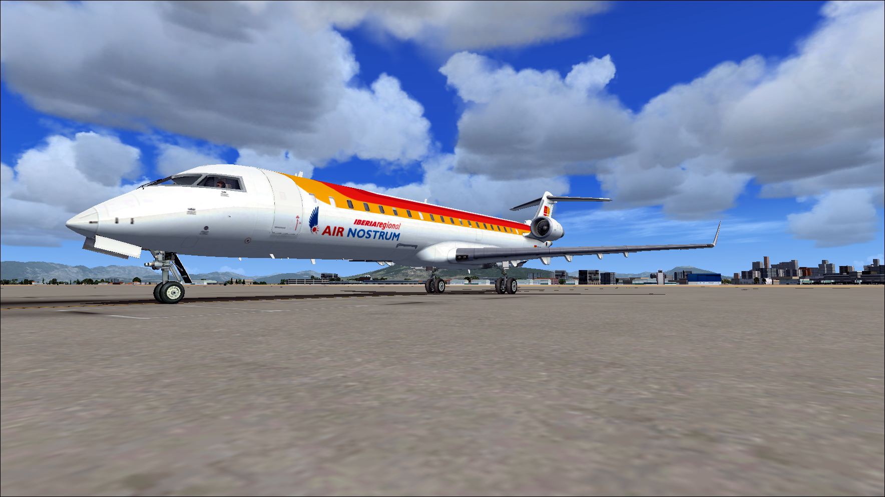 PERFECT FLIGHT - FSX MISSIONS IBERIA CRJ-700
