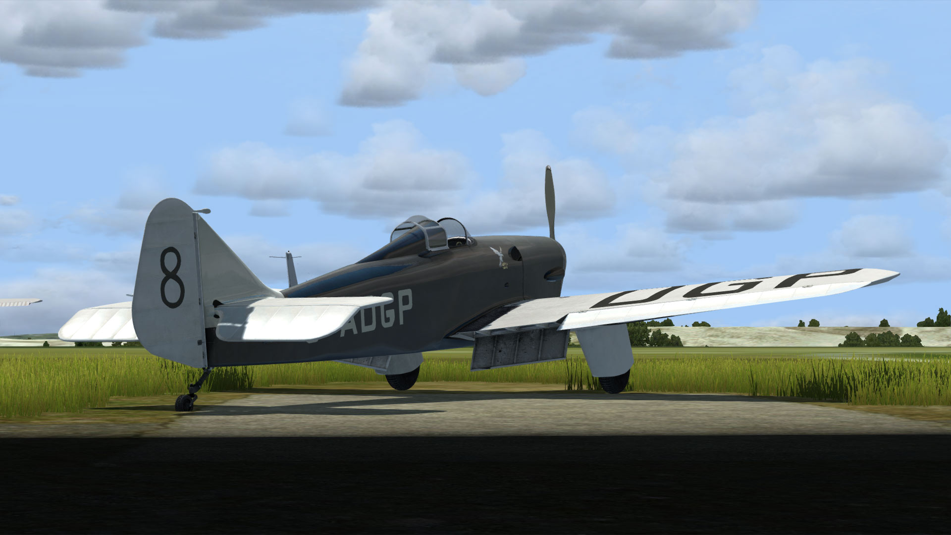 AEROPLANE HEAVEN - MILES HAWK SPEED SIX FSX P3D