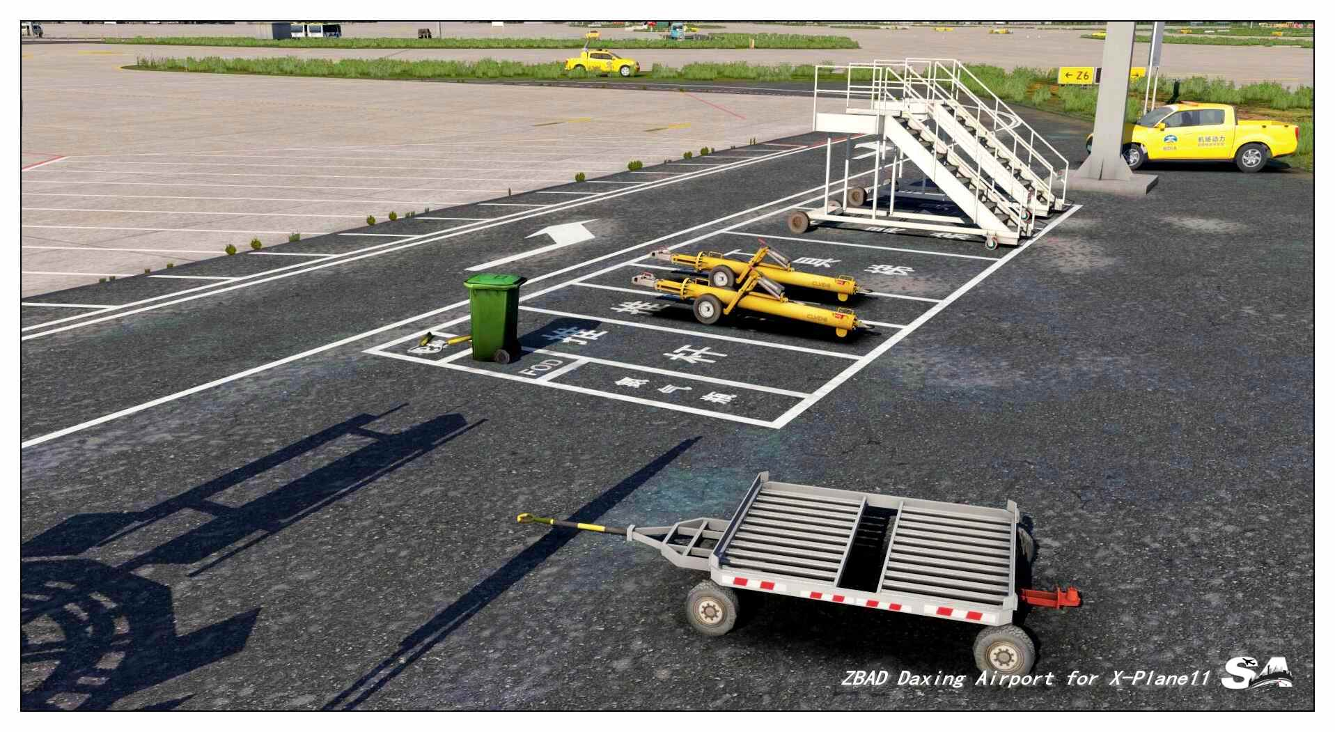 STAR_ATLAS - FLUGHAFEN PEKING-DAXING X-PLANE 10/11