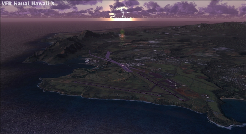NEWPORT - VFR KAUAI HAWAII X
