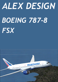 ALEX DESIGN - BOEING 787-8 DREAMLINER FSX