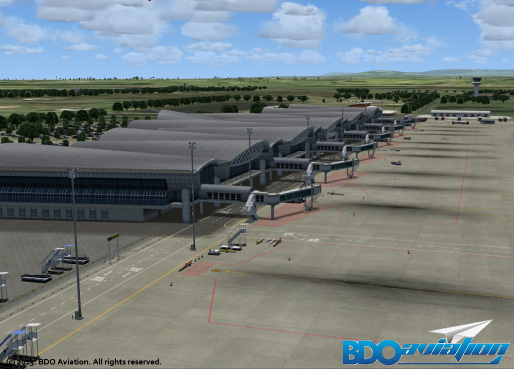 BDOAVIATION - SULTAN HASANUDDIN INTERNATIONAL AIRPORT FSX