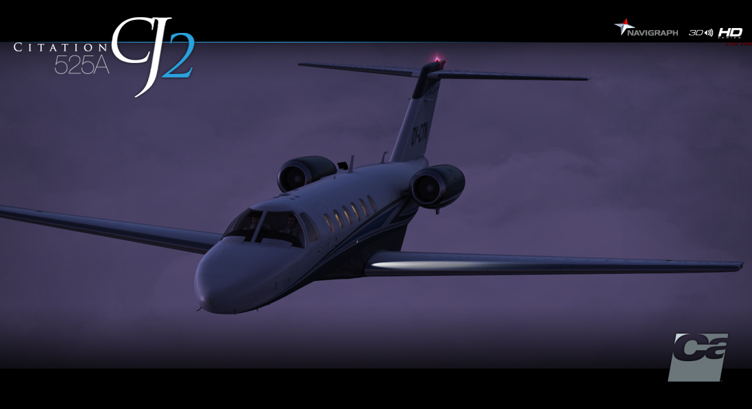 CARENADO - 525A CITATION CJ2 HD SERIES FSX P3D