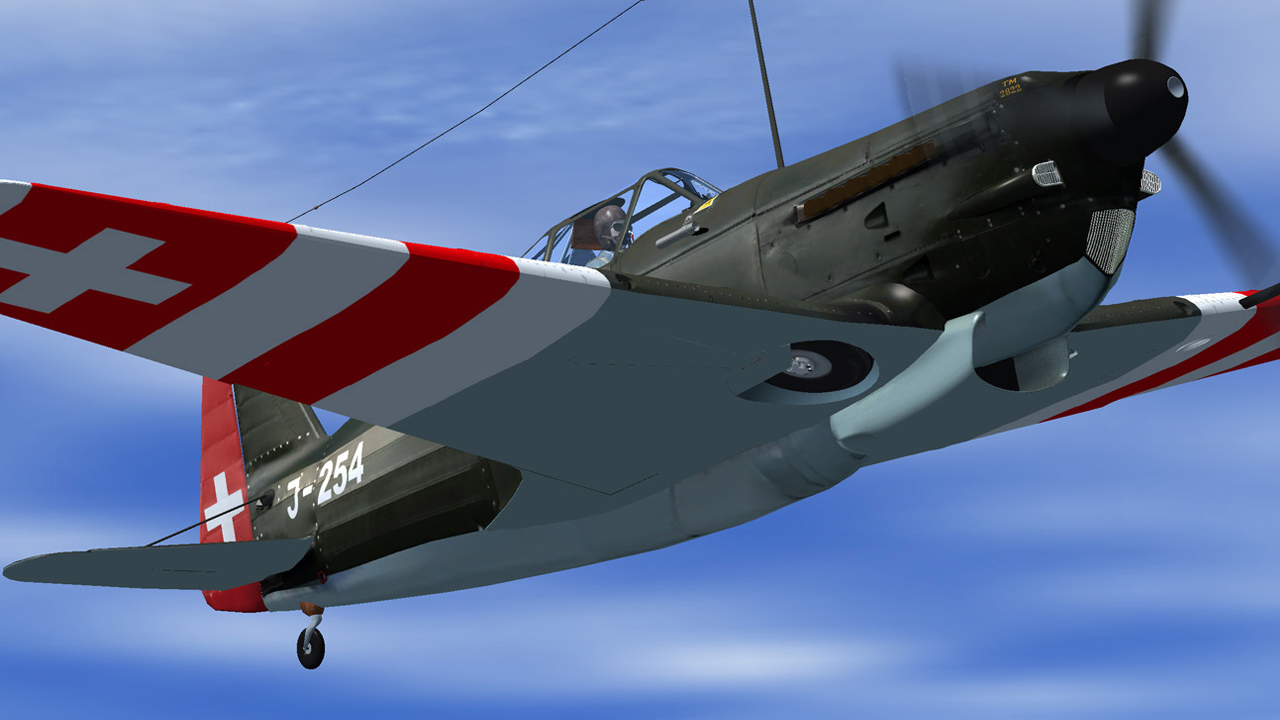 SWISS MILITARY PILOT  - VOLUME 1 1940–1950 FSX P3D