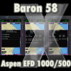 FRIENDLY PANELS - BARON 58 ASPEN EFD1000/500 NAVIGATION EQUIPMEN