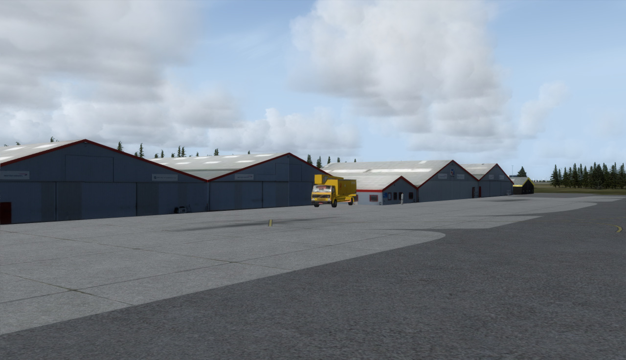 AZURAFILES - BILLUND AIRPORT CLASSIC PLUS P3D V3