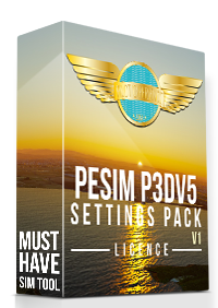 PILOT EXPERIENCE SIM - P3D5 SETTINGS PACK