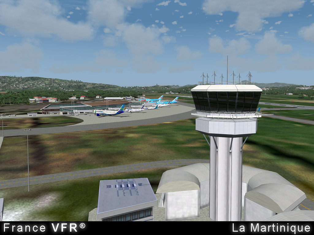 FRANCE VFR - MARTINIQUE