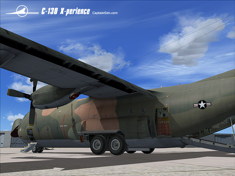 CAPTAIN SIM - C-130 X-PERIENCE ALL-IN-ONE PACK