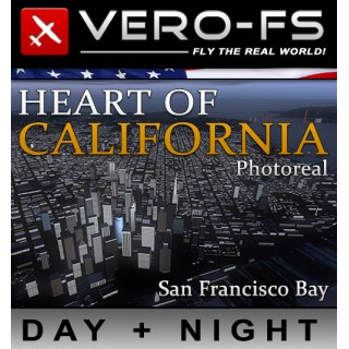 VERO - HEART OF CALIFORNIA PHOTOREAL - SFBAY FSX P3D