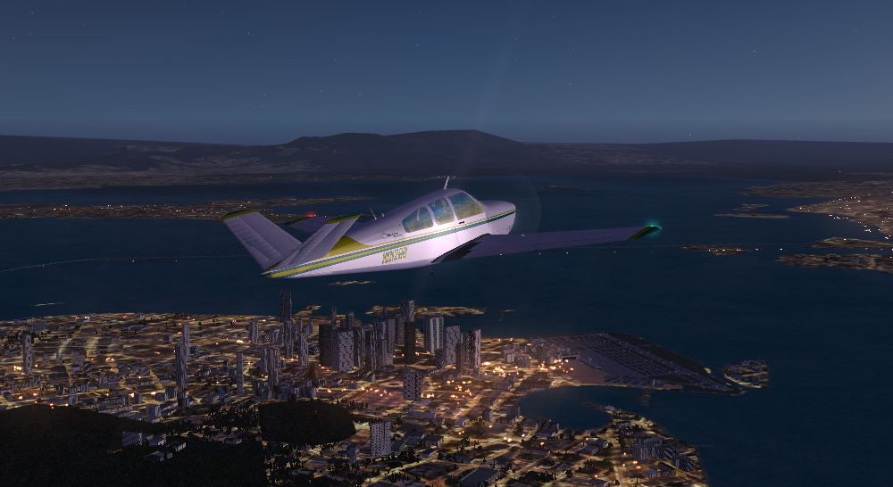 TABURET - FSX P3D NIGHT 3D CENTRAL AMERICA - CARIBBEAN - SOUTH AMERICA