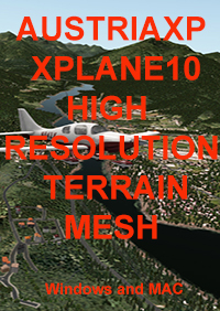 TABURET - AUSTRIA HIGH RESOLUTION MESH FOR X-PLANE 10