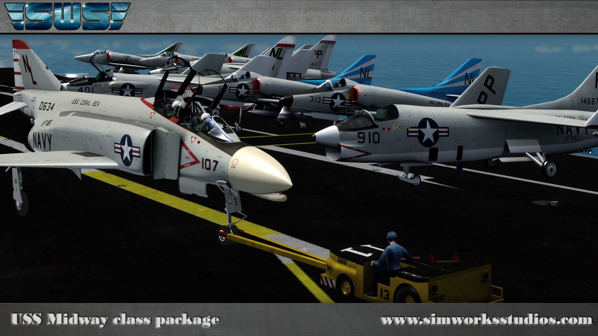 SIMWORKS STUDIOS - SWS MIDWAY BATTLEGROUP FSX P3D