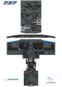 FYCYC - 737MAX-COCKPIT POSTER