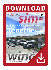 AEROSOFT - CANARY ISLANDS PROFESSIONAL - TENERIFE SUR P3D