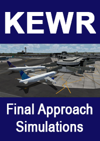 FINAL APPROACH SIMULATIONS - KEWR NEWARK LIBERTY INTERNATIONAL AIRPORT - P3D